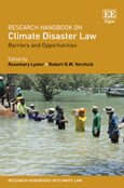 Cover Research Handbook on Climate Disaster Law