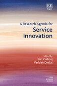 Cover A Research Agenda for Service Innovation
