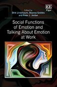 Cover Social Functions of Emotion and Talking About Emotion at Work