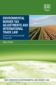 Cover Environmental Border Tax Adjustments and International Trade Law