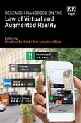 Cover Research Handbook on the Law of Virtual and Augmented Reality