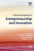 Cover A Research Agenda for Entrepreneurship and Innovation