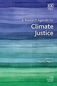Cover A Research Agenda for Climate Justice