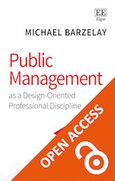 Cover Public Management as a Design-Oriented Professional Discipline