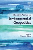 Cover A Research Agenda for Environmental Geopolitics