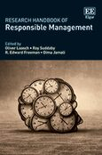 Cover Research Handbook of Responsible Management