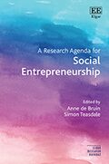 Cover A Research Agenda for Social Entrepreneurship