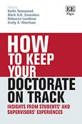 Cover How to Keep your Doctorate on Track