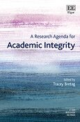 Cover A Research Agenda for Academic Integrity