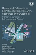 Cover Rigour and Relevance in Entrepreneurship Research, Resources and Outcomes