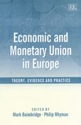 Cover Economic and Monetary Union in Europe