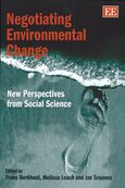 Cover Negotiating Environmental Change
