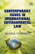 Cover Contemporary Issues in International Environmental Law