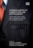 Cover Criminalization of Competition Law Enforcement