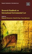 Cover Research Handbook on International Environmental Law