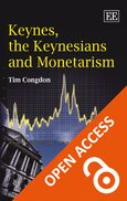 Cover Keynes, the Keynesians and Monetarism