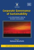 Cover Corporate Governance of Sustainability
