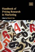 Cover Handbook of Pricing Research in Marketing