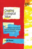 Cover Creating Ecological Value