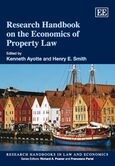 Cover Research Handbook on the Economics of Property Law