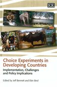 Cover Choice Experiments in Developing Countries