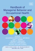 Cover Handbook of Managerial Behavior and Occupational Health