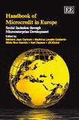 Cover Handbook of Microcredit in Europe