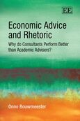 Cover Economic Advice and Rhetoric
