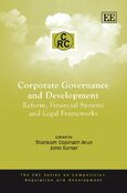 Cover Corporate Governance and Development