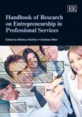 Cover Handbook of Research on Entrepreneurship in Professional Services