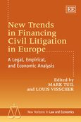 Cover New Trends in Financing Civil Litigation in Europe