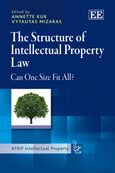 Cover The Structure of Intellectual Property Law