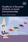 Cover Handbook of Research Methods on Social Entrepreneurship