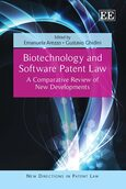 Cover Biotechnology and Software Patent Law