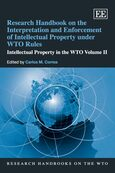 Cover Research Handbook on the Interpretation and Enforcement of Intellectual Property under WTO Rules
