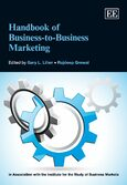Cover Handbook of Business-to-Business Marketing