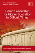 Cover Smart Leadership for Higher Education in Difficult Times