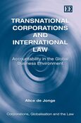 Cover Transnational Corporations and International Law