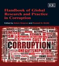 Cover Handbook of Global Research and Practice in Corruption