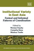 Cover Institutional Variety in East Asia