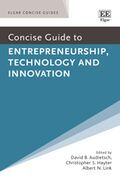 Cover Concise Guide to Entrepreneurship, Technology and Innovation
