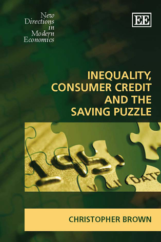 Inequality, Consumer Credit and the Saving Puzzle